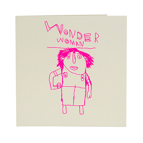 Wonder woman (greeting card)