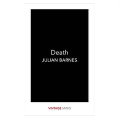 Death Julian Barnes Book Sigmund Freud