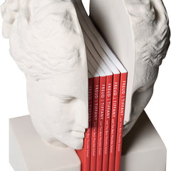 Ceramic Hygeia Bookends