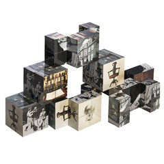 Freud Museum Cube; with 9 iconic images