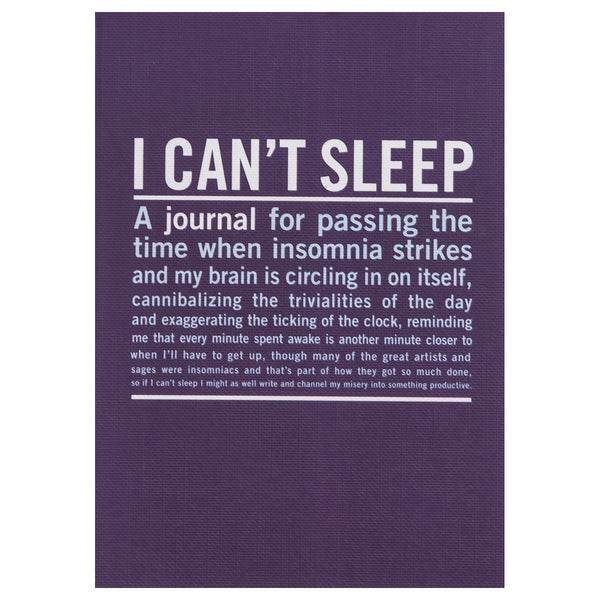 I Can't Sleep - Inner Truth Journal