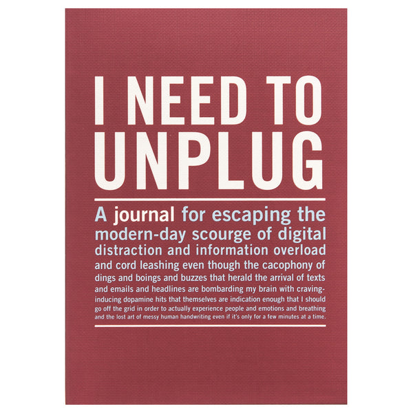 I Need to Unplug - Inner Truth Journal