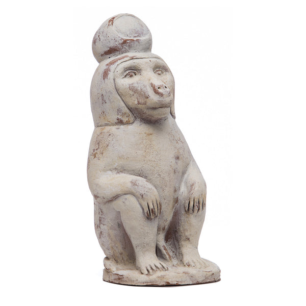 Baboon of Thoth - Terracotta Replica of Freud's Marble Figurine by Martha Todd