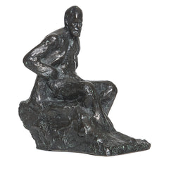 Seated Freud bust, Oscar Nemon