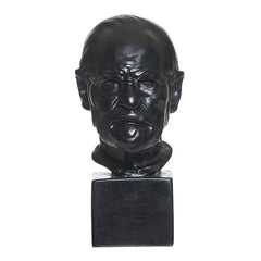 Bronze resin bust of Sigmund Freud by Oscar Nemon