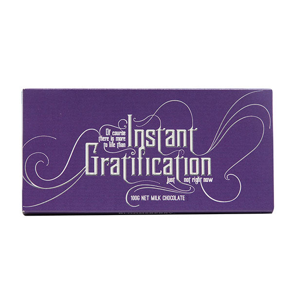 Instant Gratification Chocolate Bar