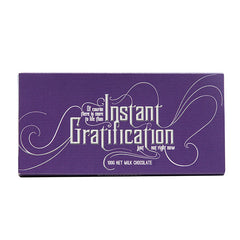 Instant Gratification chocolate