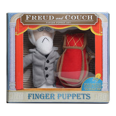 Freud & couch finger puppet set