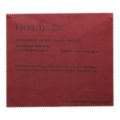 Eye glasses cloth, Freud's study