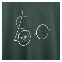 """Freud Today, Freud Tomorrow"" t-shirt, exclusive to Freud Museum, green"
