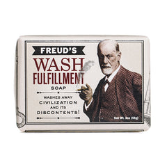 Freud's wash fulfillment soap - wash away civilization and its discontents