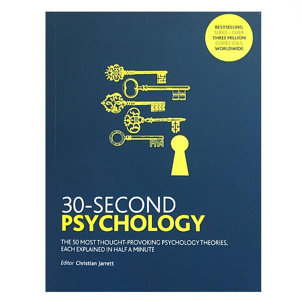 30 Second Psychology (Paperback)