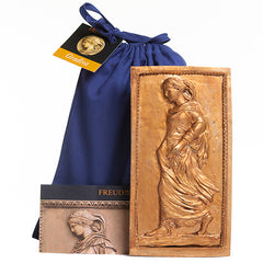 Gradiva - Plaster-cast Figurine with gold finish