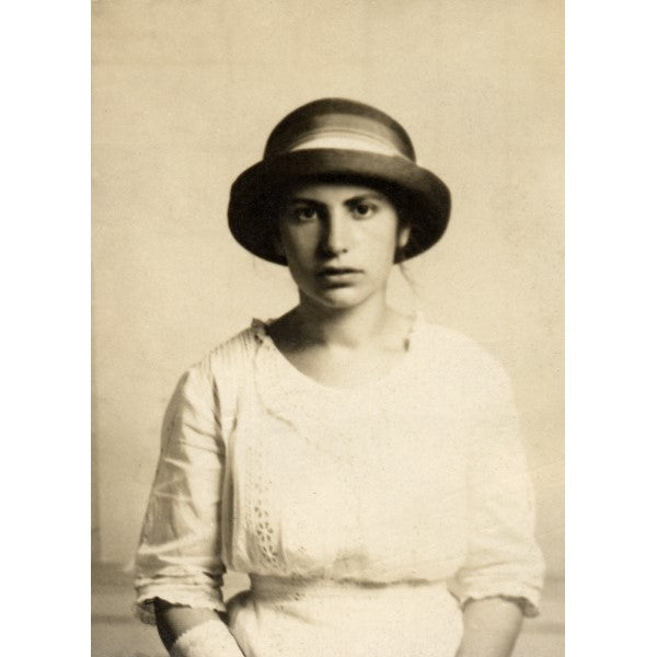 Anna Freud, 1914 (postcard)