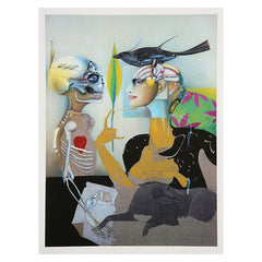 Limited Edition Signed Print Freud Museum, Paul Wunderlich 1996