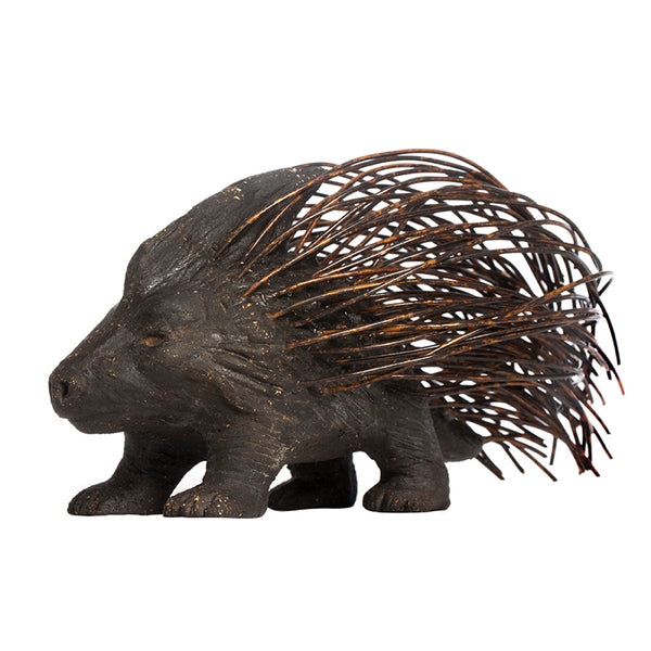 Porcupine - Terracotta Replica of Freud's Metal Figurine by Martha Todd