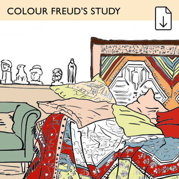 Colour Freud's Study