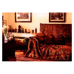Postcard, Freud's psychoanalytic couch