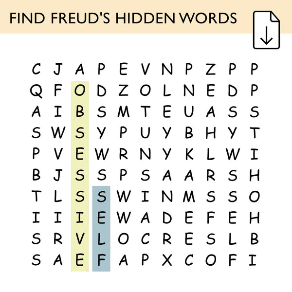 Freudian Word Search