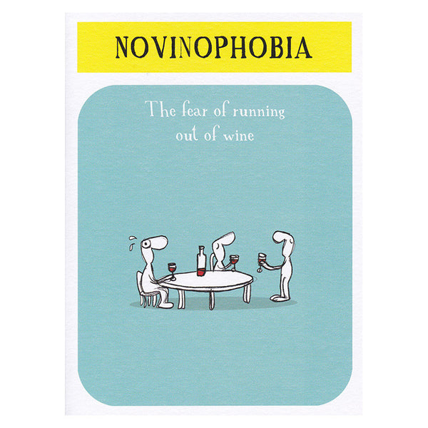 Novinophobia (greeting card)