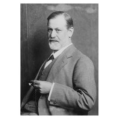 Print, Portrait of Freud 1914