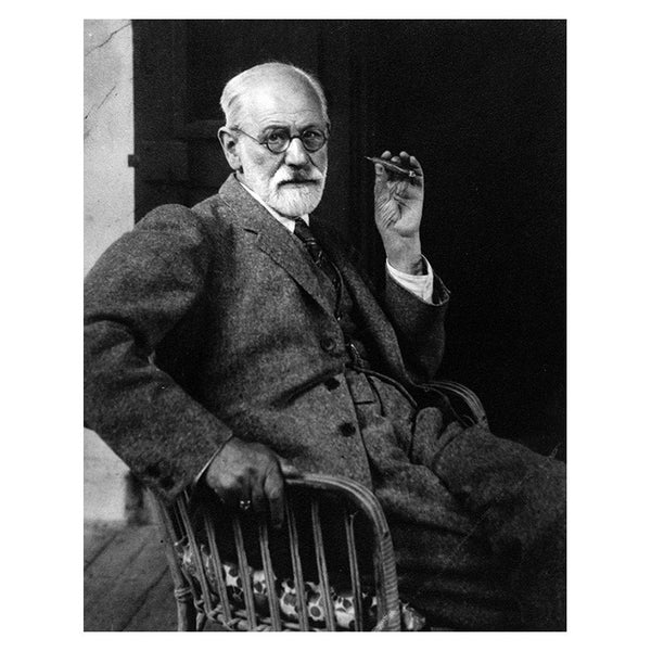 Sigmund Freud in 1932 (print)