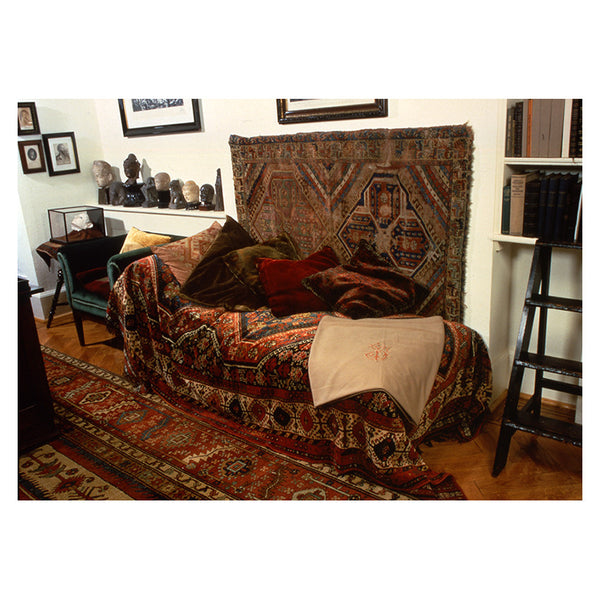 Diagonal View of Freud's Couch (print)