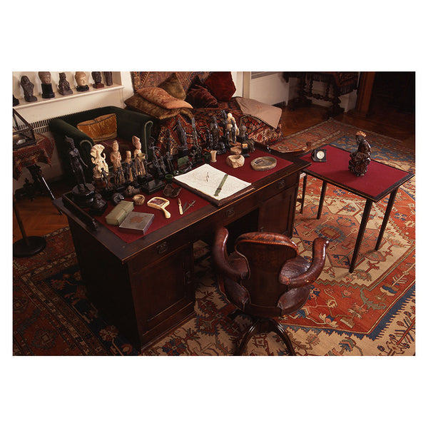 Aerial View of Freud's Desk (print)