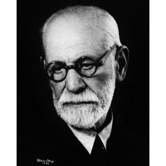 Portrait of Sigmund Freud, 1939, Photo Print