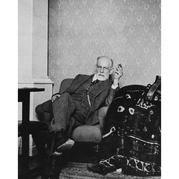 Freud and Couch (print)