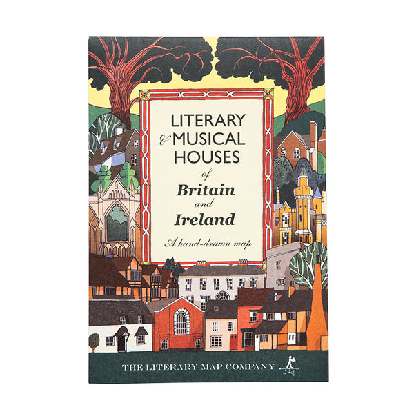 Map of Literary & Musical Houses of Britain and Ireland