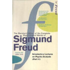 Sigmund Freud The Standard Edition Vol.16