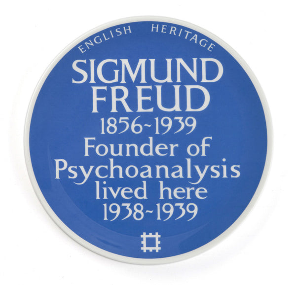 Blue Plaque Plate