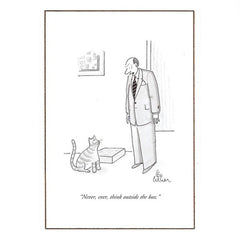 Never Ever Think... - The New Yorker (greeting card)
