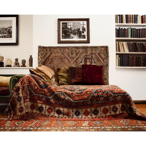 Side View of Freud's Couch (print)