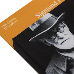 Sigmund Freud after his arrival in London, 6 June 1938 - Mini Canvas