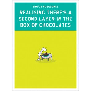 A Second Layer in the Box of Chocolates (greeting card)