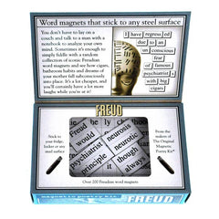 Inside of Freud Magnetic Poetry Kit