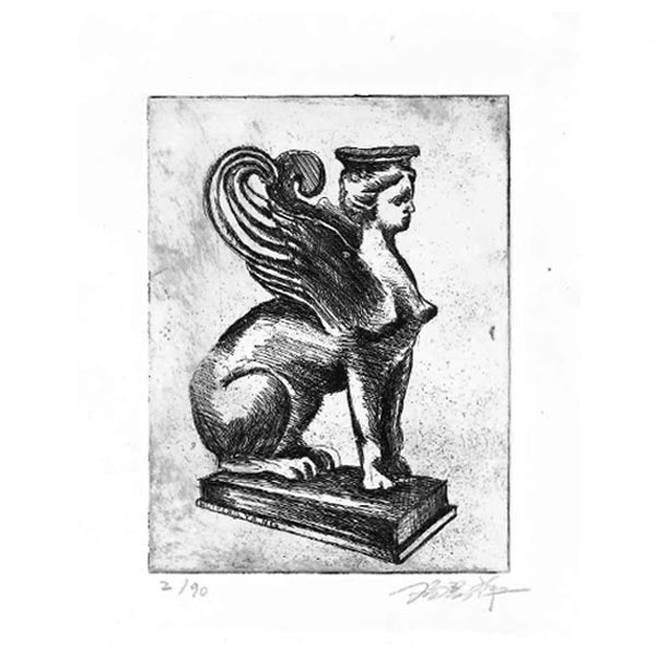 Sphinx - Print by Huiping Yang
