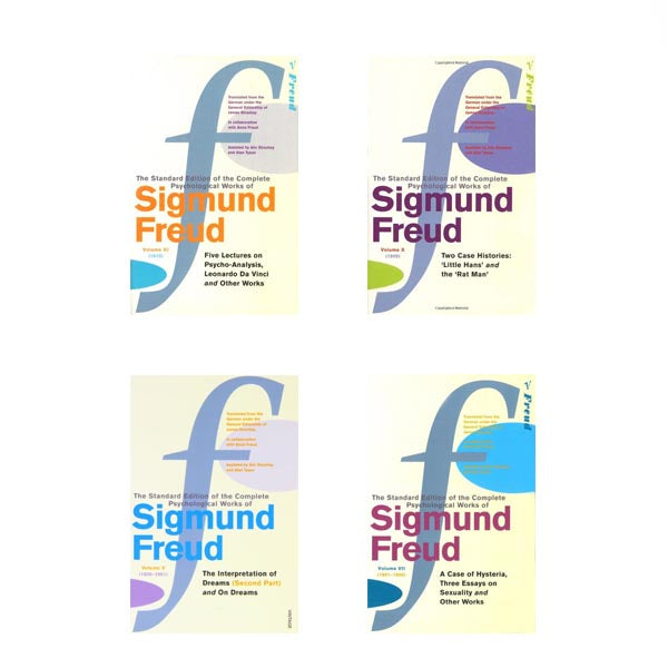 The Complete Psychological Works of Sigmund Freud (24 Volumes)