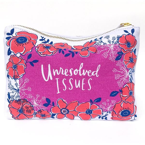 Unresolved Issues Canvas Pouch