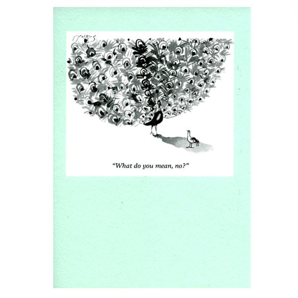What do you mean, no? - Punch Magazine (greeting card)