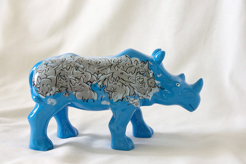 Spike - miniature collectable rhino