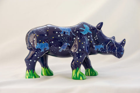 Stella - miniature collectable rhino