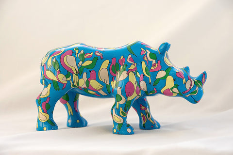 Symbiosis - miniature collectable rhino