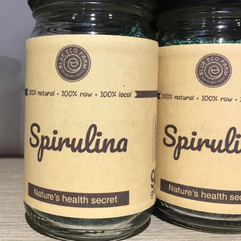 POND-TO-TABLE LOCAL SPIRULINA