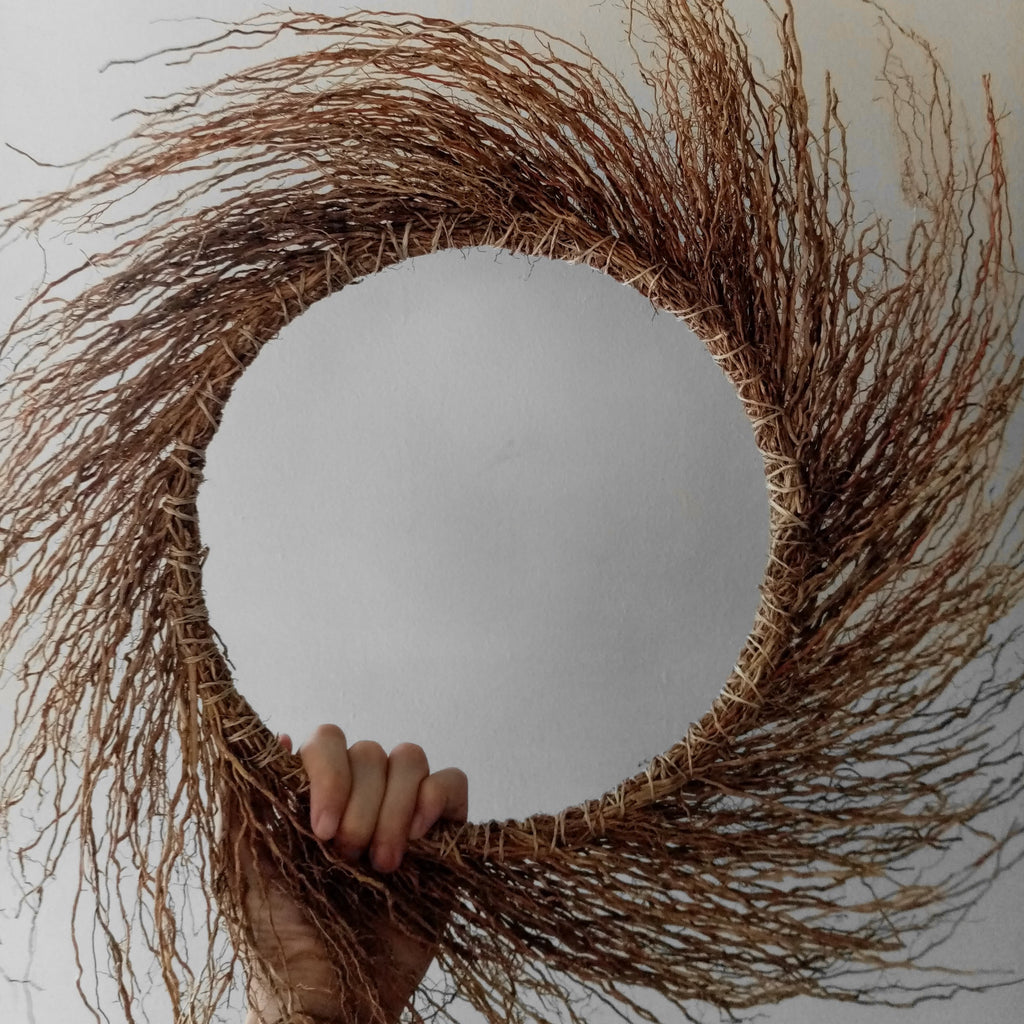 LARGE VETIVER WREATH