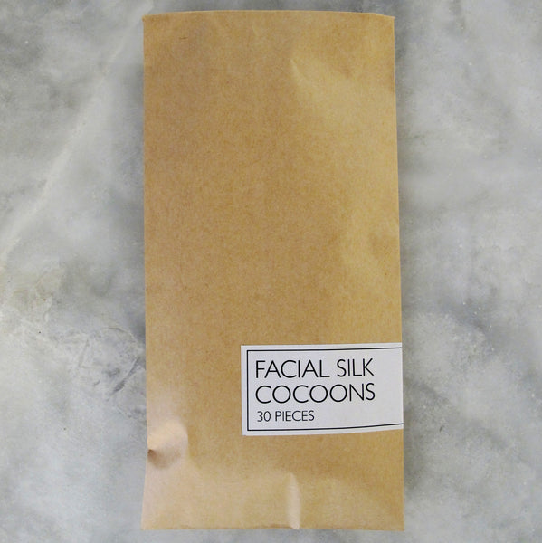 EXFOLIATING SILK COCOONS