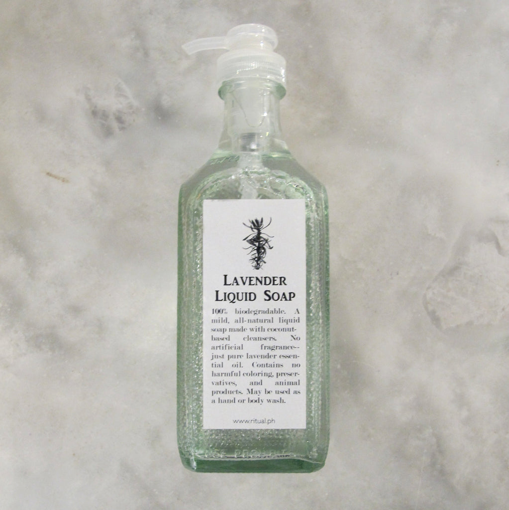 LAVENDER LIQUID SOAP