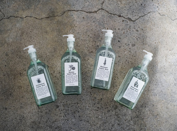 LEMONGRASS LIQUID SOAP